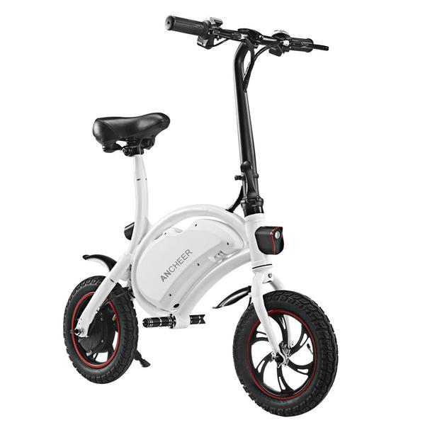 ANCHEER Mini Folding Electric Bike - 350W 36V eRide Guides