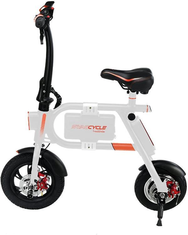 Swagtron Folding Electric E-Bike - 250W 36V eRide Guides