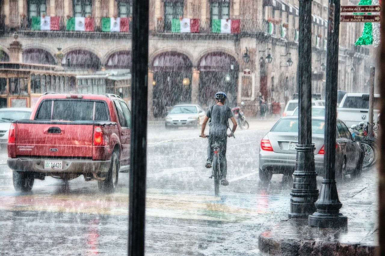 Electric Bike in the rain eRide Guides